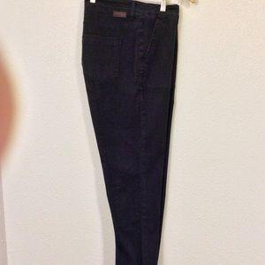 Boden Vintage Wash Black Jeans